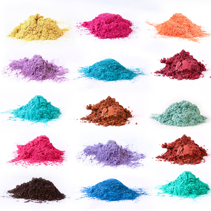Factory price color mica powder pigment for cosmetic/Coating/Ink/Leather