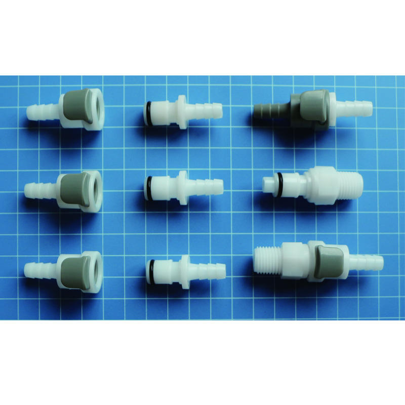 JU APM Series Acetal POM Plastic Tube Barbed Quick Connect Disconnect Coupling
