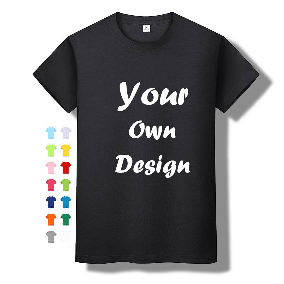 Factory wholesale custom print logo t shirt custom designs sublimation blank men t-shirt for sale