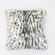 luxury cushion covers polyester faux fur sofa cushion cover plush pillow