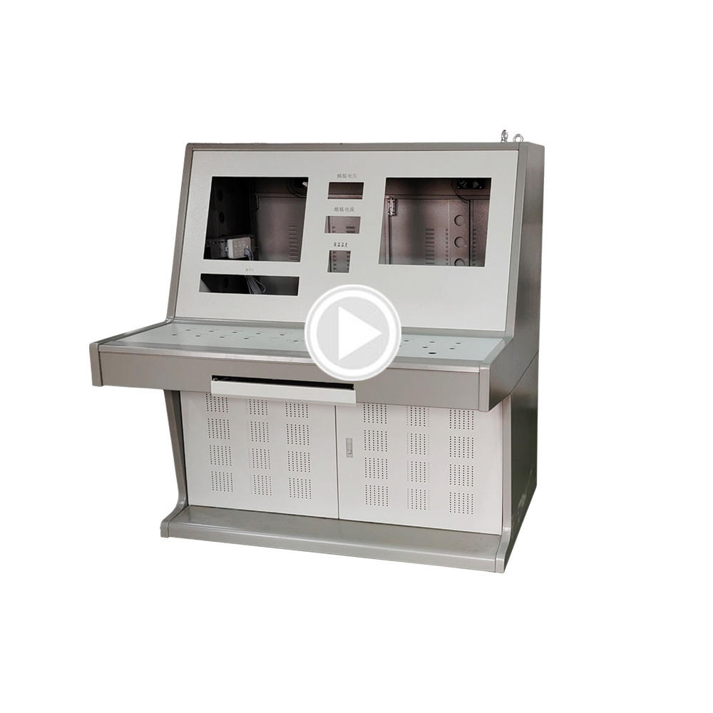Custom Industrial Operation Cabinet By Control Console Enclosure Manufacturer