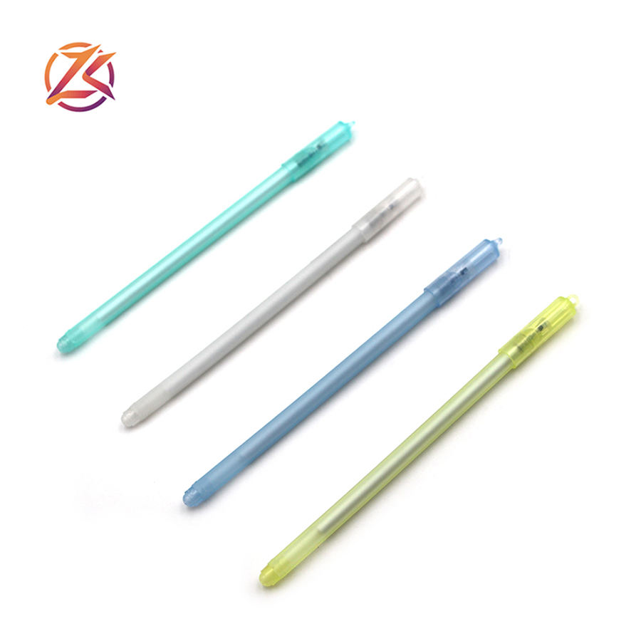 Simple cheap gel neutral pen cap pen cap can hang objects multiple colors are available thin Semi-finished products gel pen