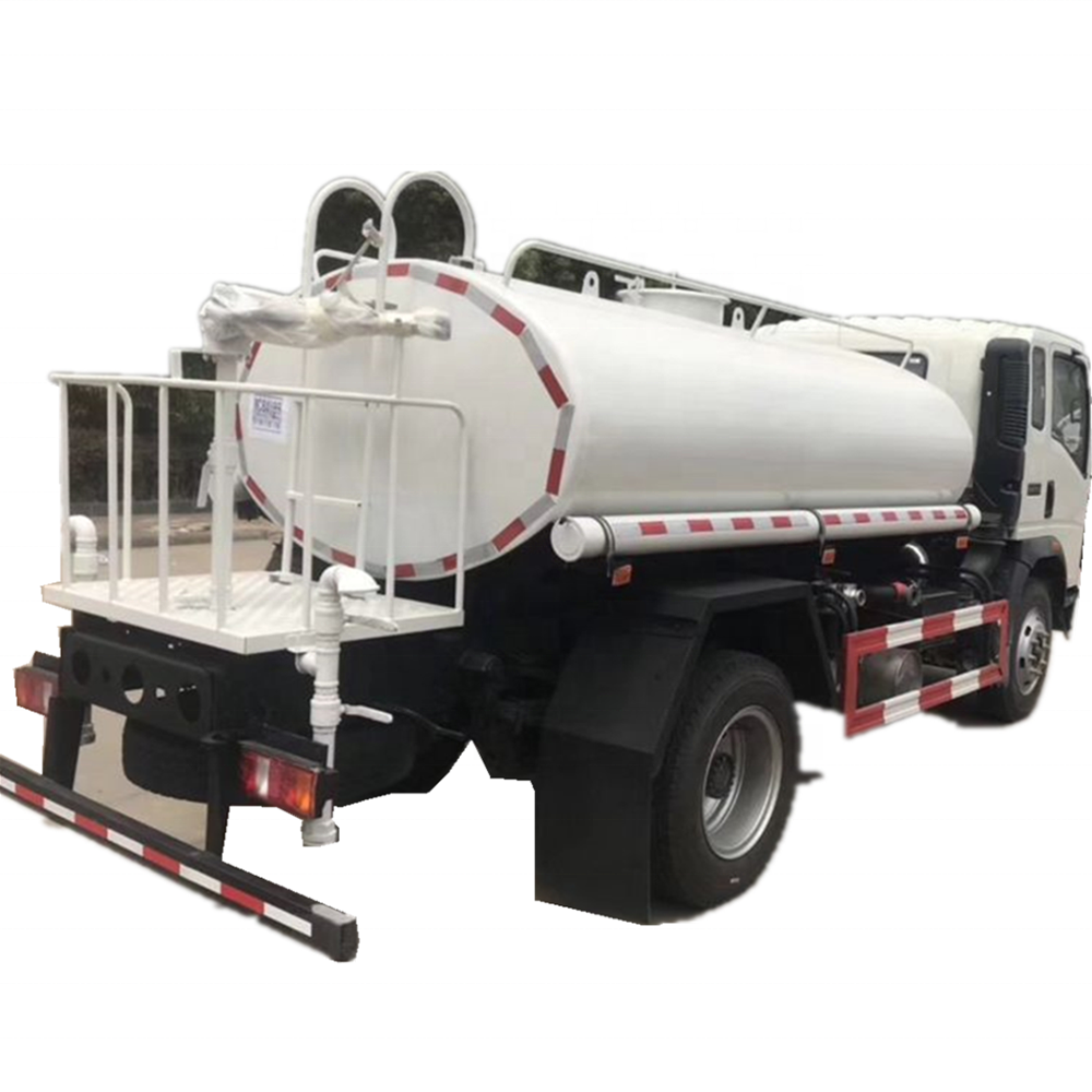 left hand drive 6 wheel mini 3 ton water spray tanker truck for sale