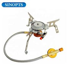 Sinopts Windproof Electronic Fire Camping Gas Stove Portable