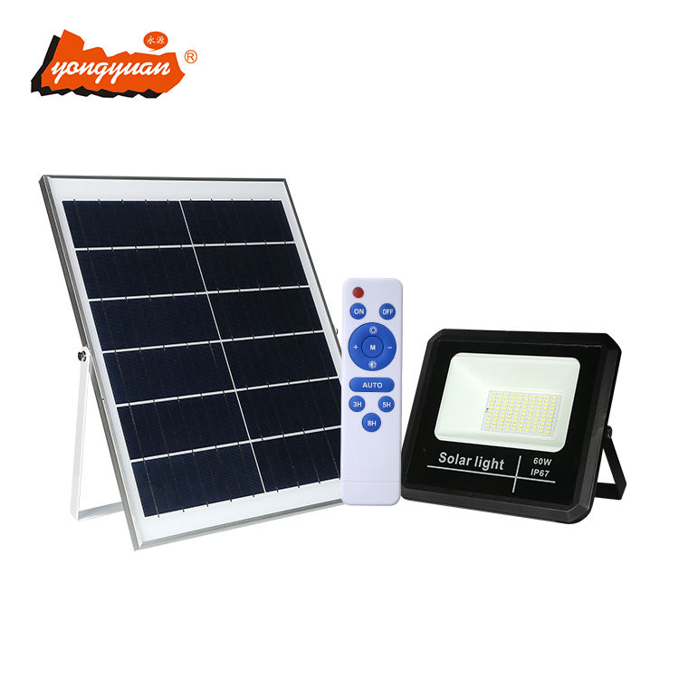 Unique design Industry waterproof IP67 25watt 40watt 60watt 100watt led solar floodlight