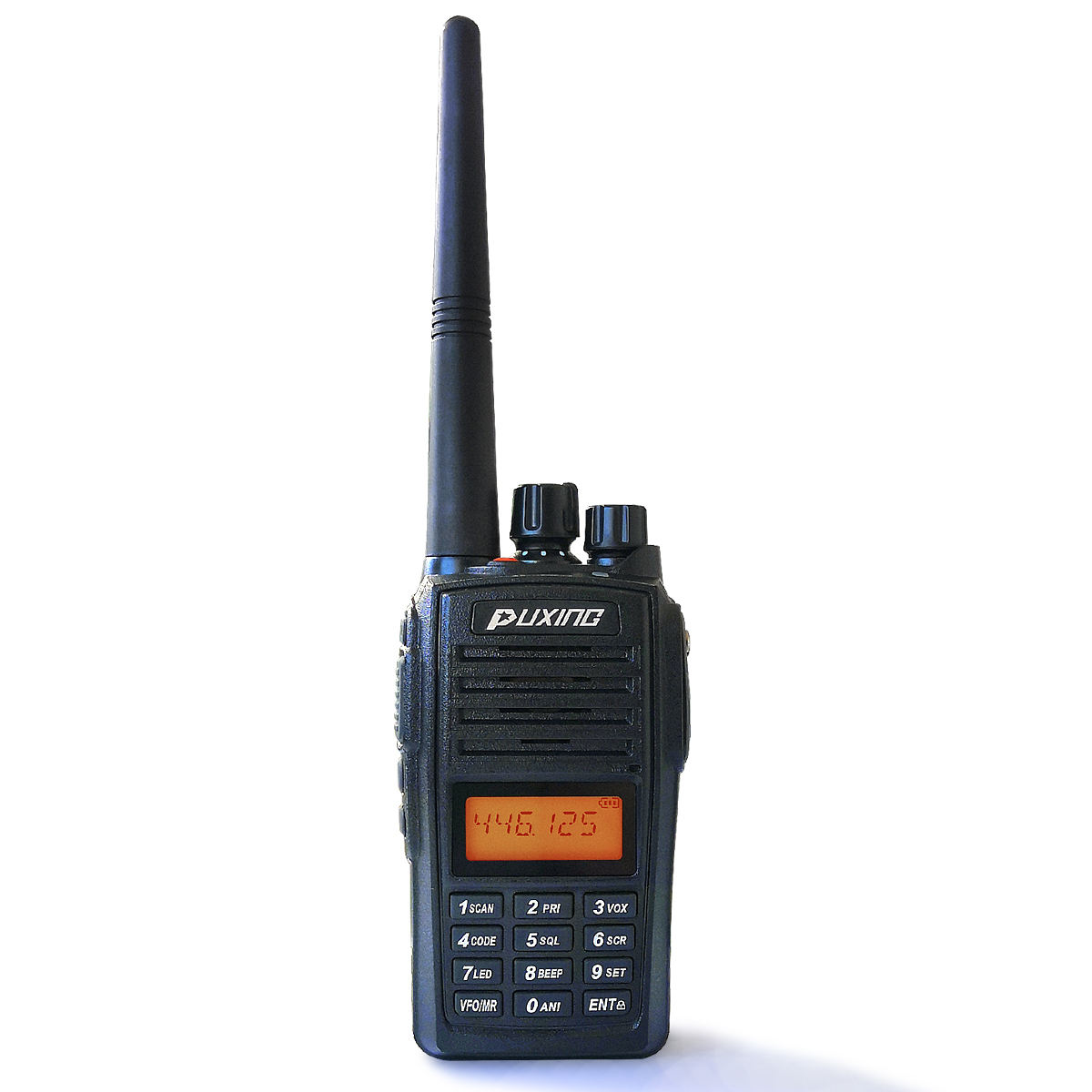 PUXING PX-568 FM <span class=keywords><strong>UHF</strong></span>/VHF <span class=keywords><strong>handheld</strong></span> <span class=keywords><strong>5W</strong></span> Walkie Talkie IP67 two way radio transceiver