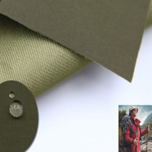 100% Nylon 3 layers waterproof breathable ptfe fabric with tricot  wholesale uniform fabric