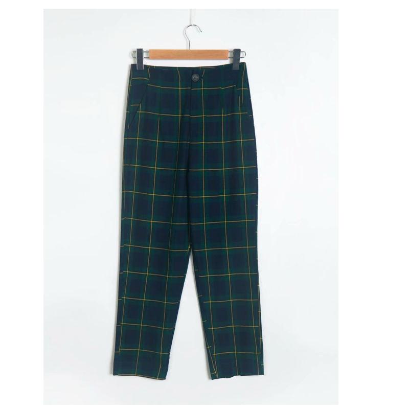 Promocion Spanish Compras Online De Spanish Promocionales Pantalones A Cuadros Verde Alibaba Com