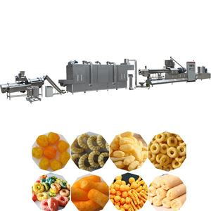 CE Corn Puffed Snack Production Line Extruder Corn Chips Food Making Machine Price