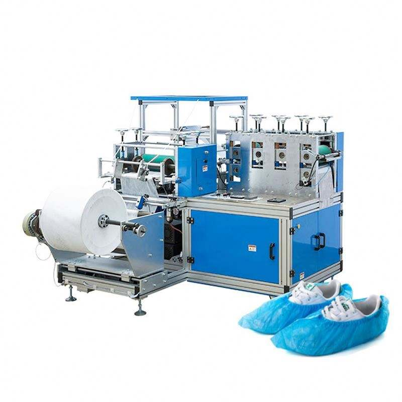 Factory direct deal shoe making machine automatic equipment for the production of shoe covers Slipper drilling machine