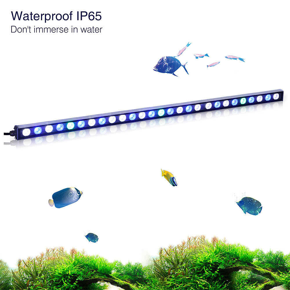 DIY Reef Aquarium LED Light Bars voor Zoetwater Geplant <span class=keywords><strong>Aquascape</strong></span> 60/90/120cm