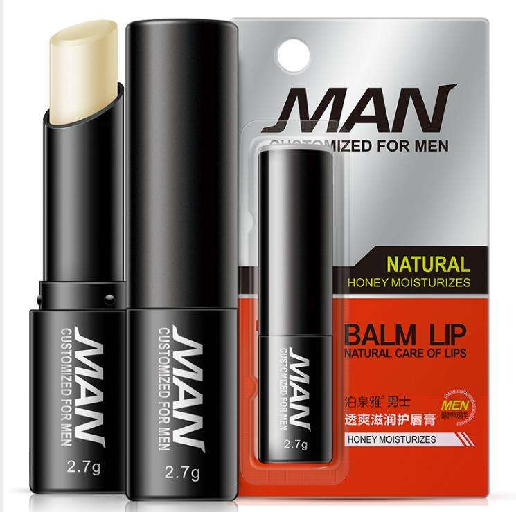 Natural organic custom lip balm private label for man