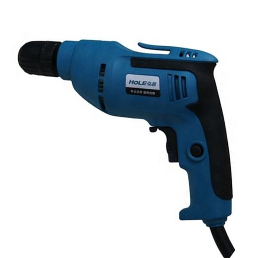 HOLE 09-10 500W made portable Blue 3000r/min mini electric hand 220v 10mm portable hole digging drill