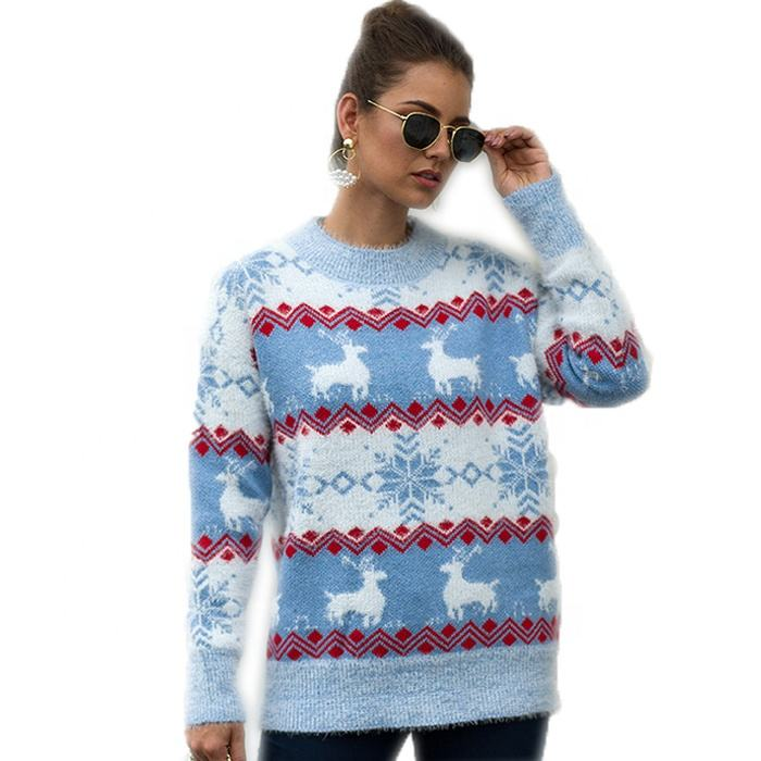 <span class=keywords><strong>Dewasa</strong></span> Rajutan <span class=keywords><strong>Natal</strong></span> Jumper Kustom Pullover Jelek <span class=keywords><strong>Natal</strong></span> <span class=keywords><strong>Sweater</strong></span>