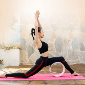 Customized Yoga Mat With Carrying Strap Fitness Mat Pilates And Floor Exercises Lose Weight Household Exercise Product