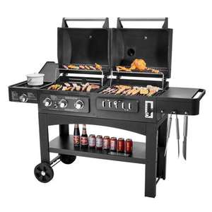 Prophane Gas Barbecue China GY01 Trolley Bbq Gasfornuis Kip Grill Voor Kip