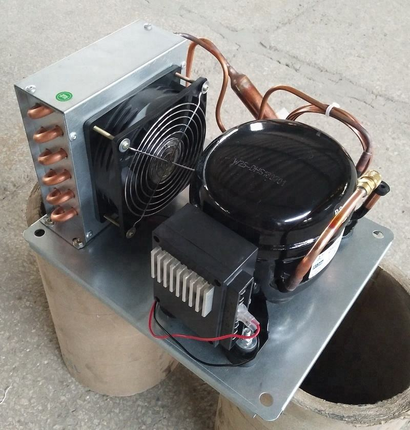 DC 12/24V Mini Condensing Unit