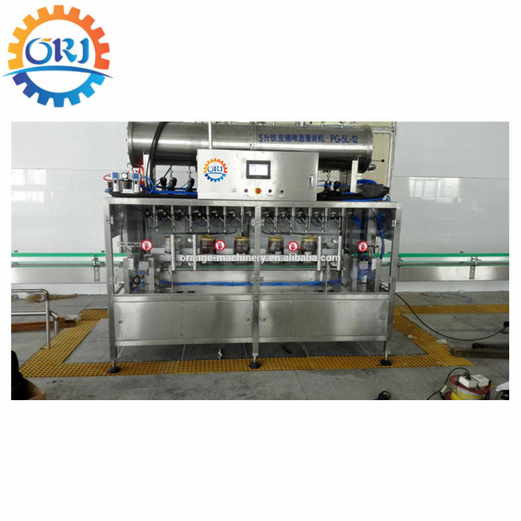 Root bier robust construction beer washing filling capping machine rinsing for 500ml bottles