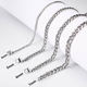 LD-NeckLace006 JR Fashion Jewelry Necklace Stainless Steel Chain Silver Link Chain Necklace
