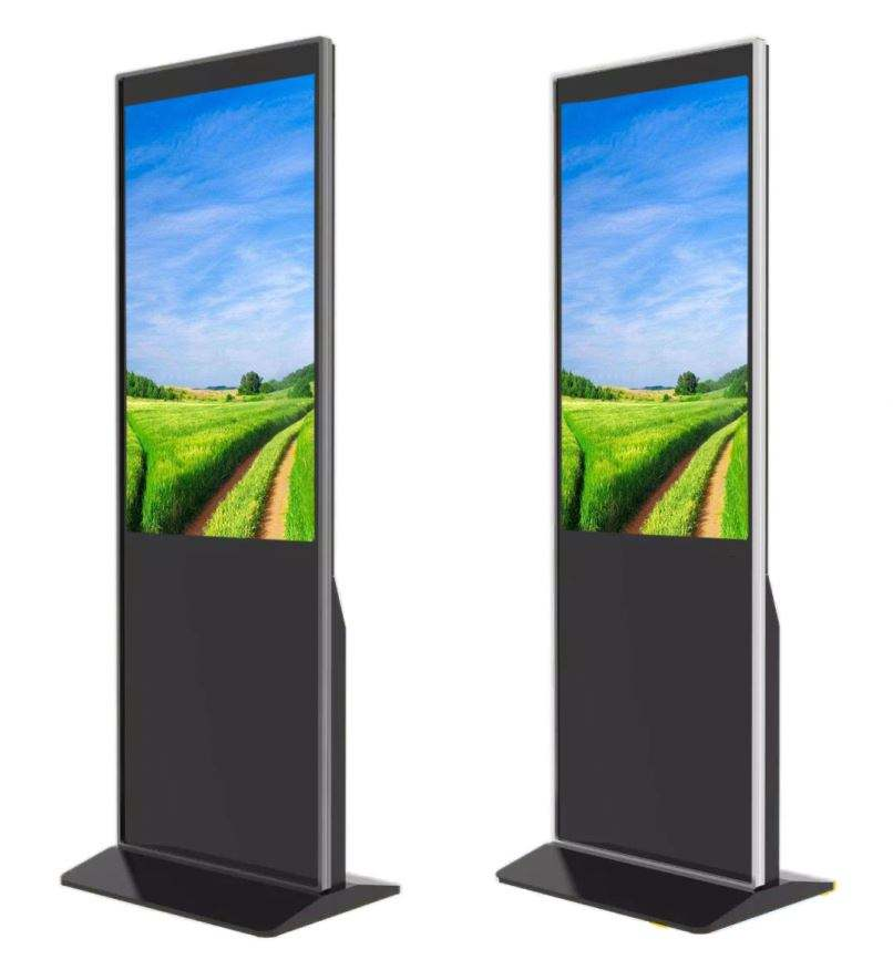 32 Inch Advertising Display Digital Signage With Hand Sanitizers Dispenser With Great Price