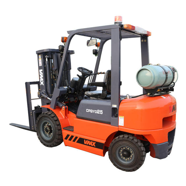 2.5t lpg gas forklift truck with Nissan K21/K25 engine