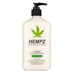 Body Moisturizer Herbal Skin Lotion Nourishing Vegan hemp Lotion