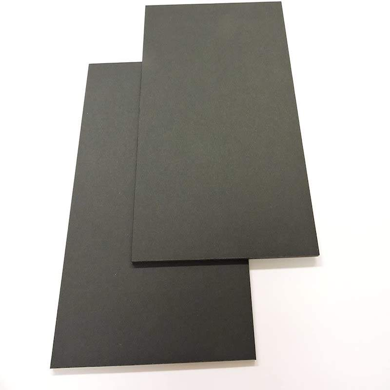 High quality kt papr foam board self adhesive black election kt board