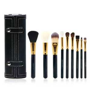 Make-up burst wholesale MC leather sets brush nine-piece set of beginners fine leather sets gift box