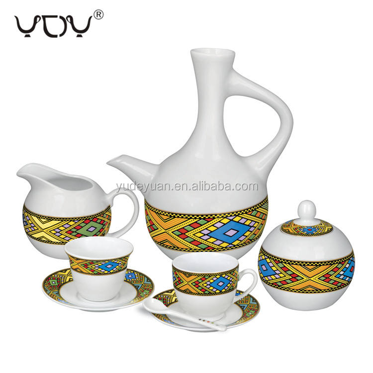 jebena rekebot eritrean art tea coffee cup ethiopian coffee cup set
