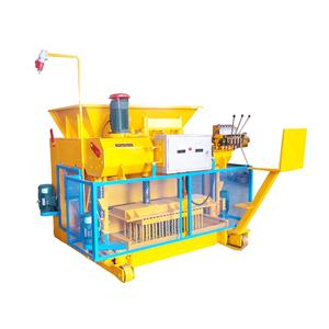 QMY6-25 Automatic Mobile hollow paving cement concrete brick laying block making in dubai