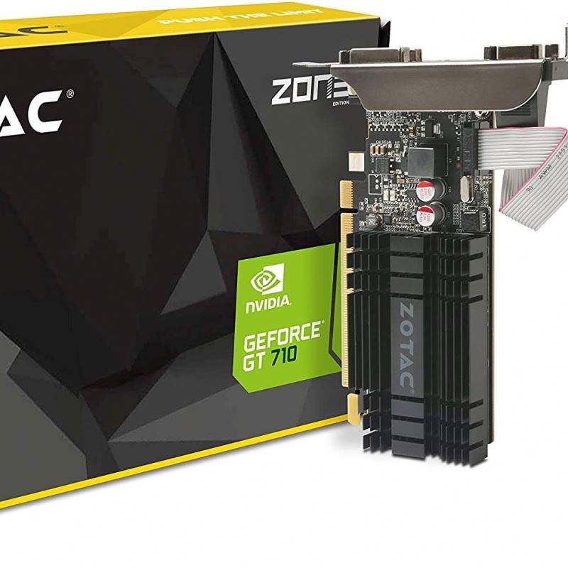 Zotac ZT-71302-20L NVIDIA GeForce GT 710 PCI Express 2.0การ์ดจอ2 GB-หลายสี