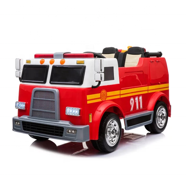 Popular Toy 911 Fire Truck For Sale Ride On Car New Electric Car