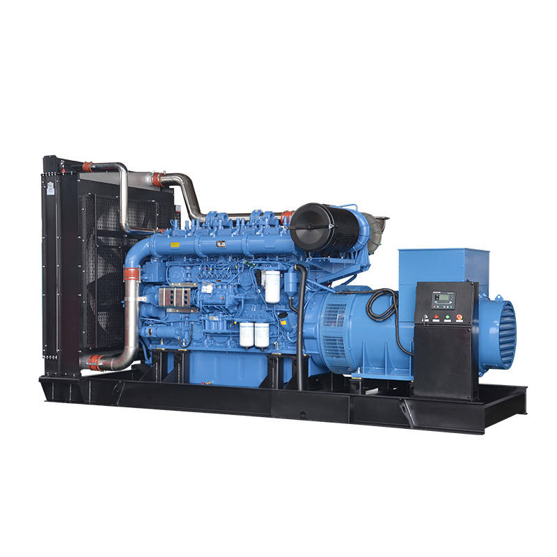 Container type silent canopy 1000kva diesel generator 1000kva power plant with Yuchai engine model YC6C1220-D31
