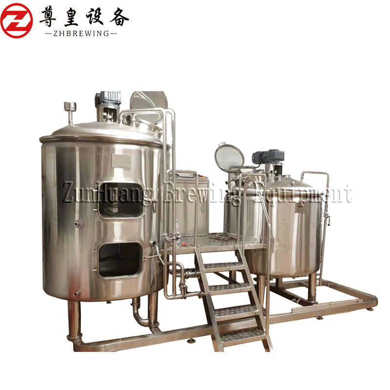 Canada Brewery Machinery Beer Brewery Equipment Beer Making Machine Beer Brewing Plant 300L 500L