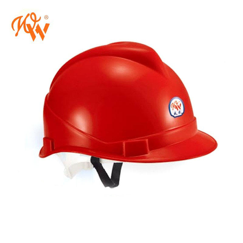 WEIWU cheap price industry workers hard hat 328-D PE safety helmet