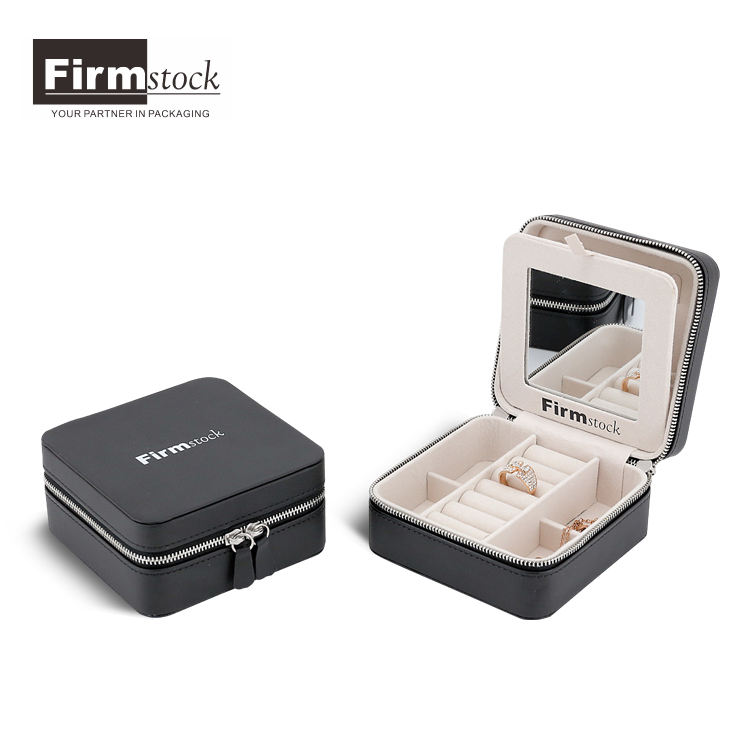Boxes Jewelry Fashion Jewelry Box Leather Jewellery Box Wholesale Jewelry Case Series