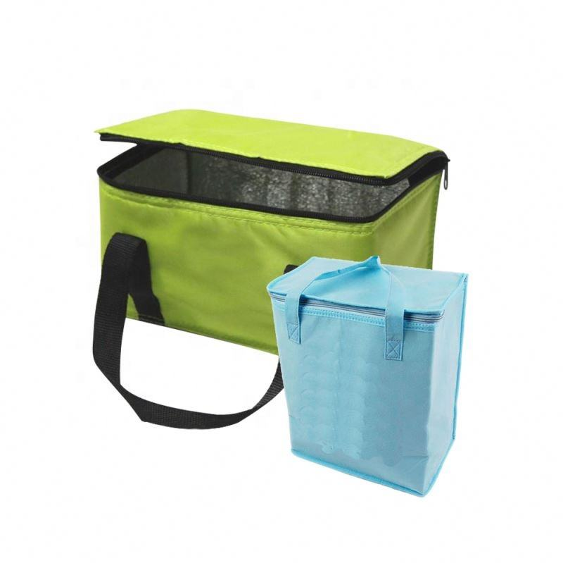 Picnic food Tote With Bottom insulated cooler lunch bag