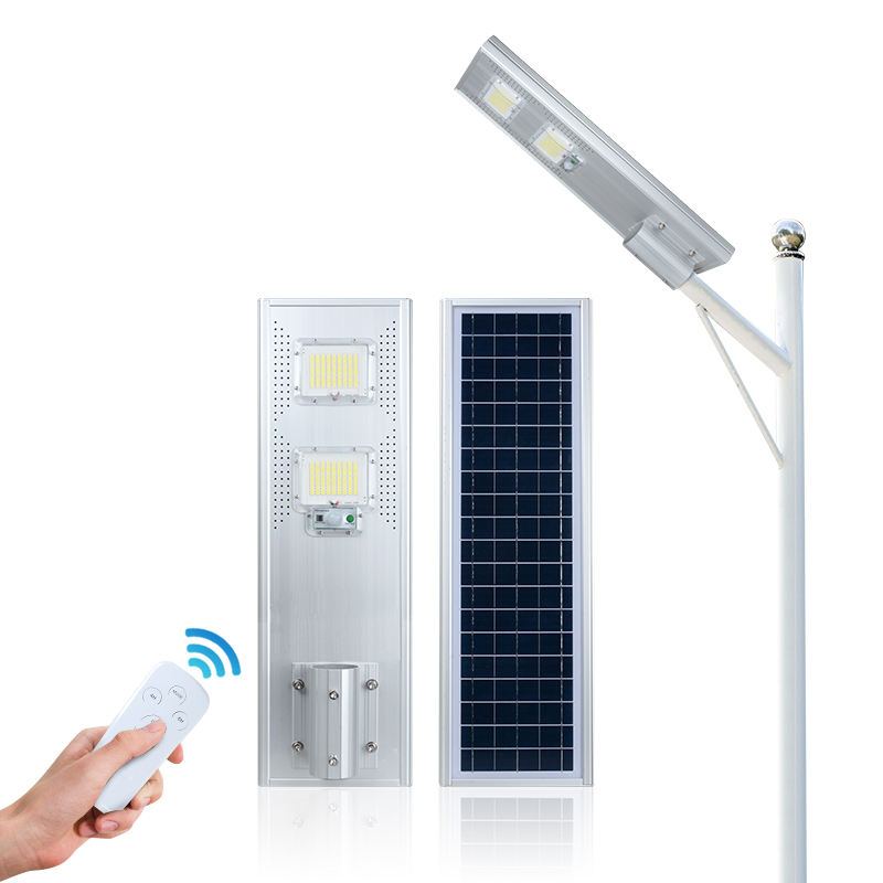 High quality outdoor ip65 all in one battery power 60w 120w 180w solar led street light