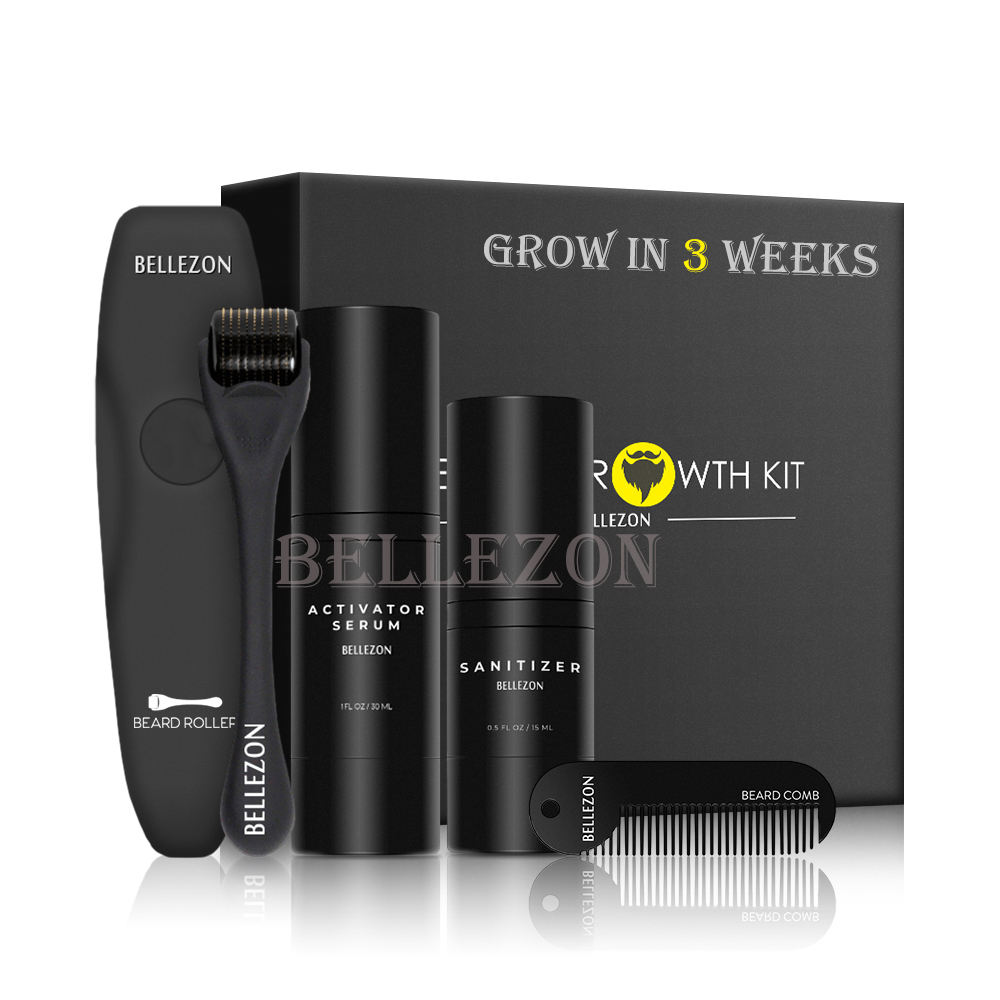 OEM Beard Growth Softens Strengthens Beards And Mustaches Beard Oil Set Men Growth Kit