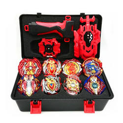 8pcs Bey Blade Gyro Set Spinning Top Toy with Launcher Storage Box Kids Toys Children Gifts
