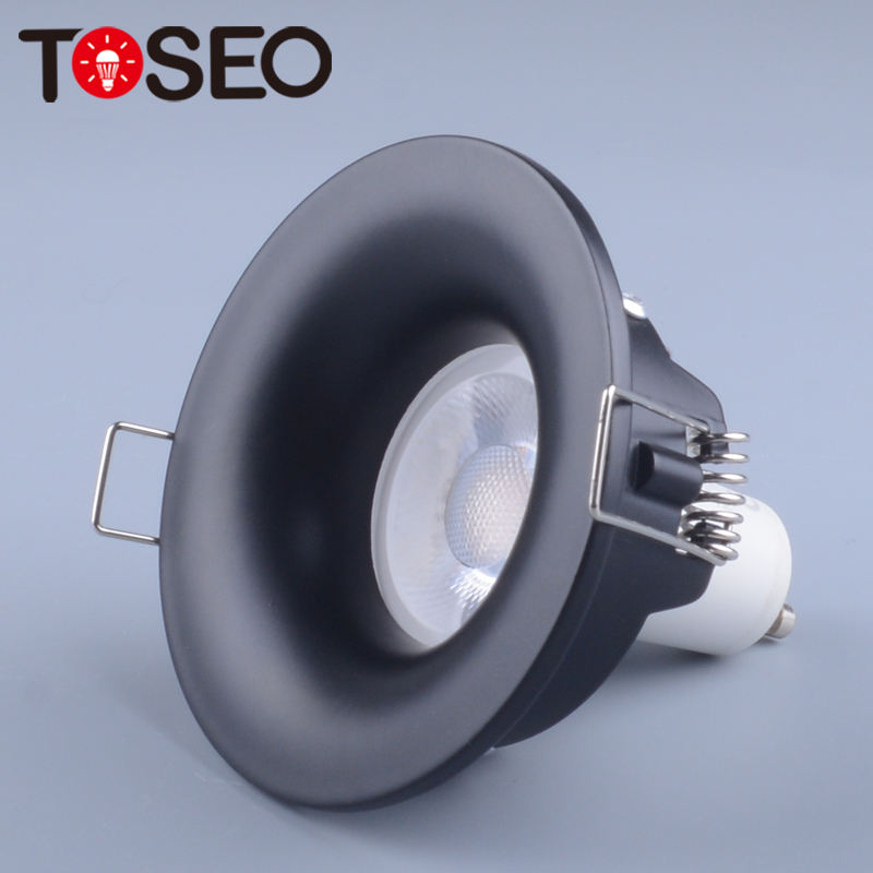 Indoor Round Metal Shallow Recessed Mounted Anti-Glare Led Spotlight Fitting Ip65 Water-Proof Recessed Downlight