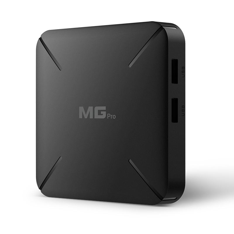 HOT Pure Linux smart OTT TV box MG Pro Support living broadcast Software customization Compatible with most middleware