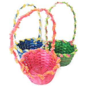 New Design Bamboo Basket Easter Craft Basket
