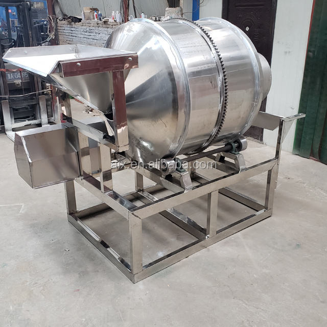 Rotating drum mixer stainless steel food grade food drum mixer