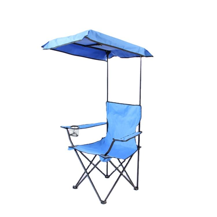 Outdoor Fishing Portable Picnic Chair Camping Outdoor Umbrella Canopy Camping Chairs
