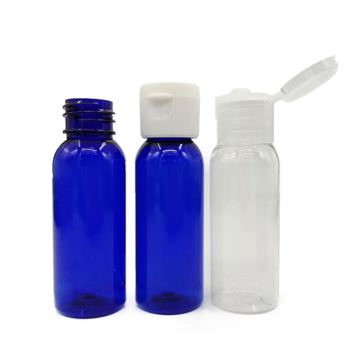30ml 1oz Empty Pet Plastic Portable Hand Sanitizer Bottle