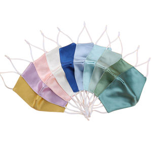 2 Layer Dust-proof Reusable Adjustment Washable Silk Feeling Face cover