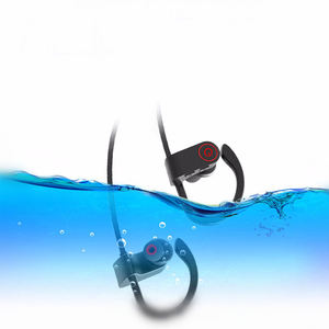 Sport Headset Earphone Tws Serta Tahan Air U8 Nirkabel Bluetooth Headphone Telinga Hook untuk Samsung Xiaomi