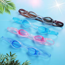 Hot Selling Transparent Sports PVC Material Hd Waterproof Swimming Glasses Wholesale