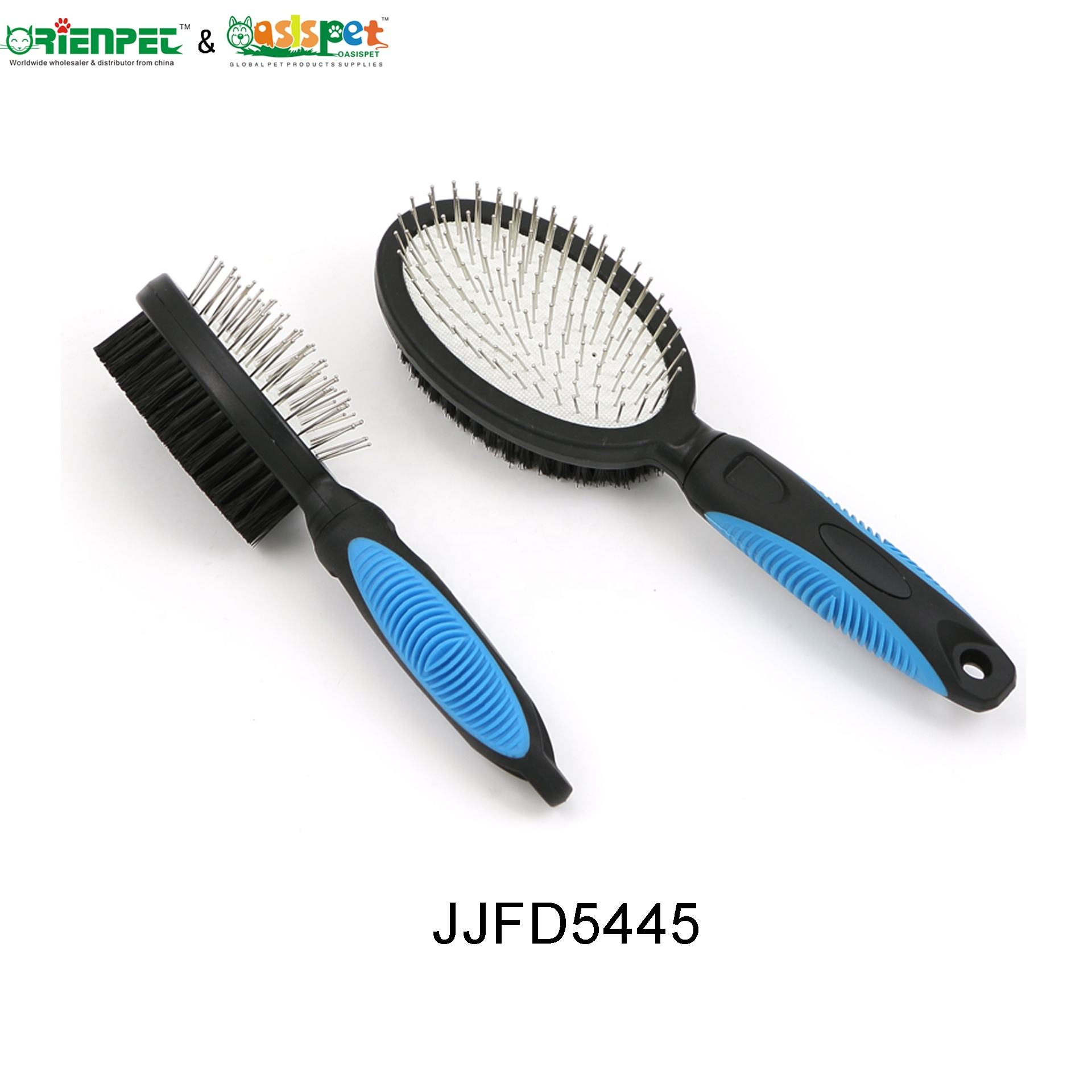 Groom ORIENPET OASISPET Pet Dog Comb Double Pin Brush JJFD5445 L Pet Grooming Tool